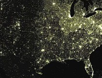 Mapping Wikipedia in North America